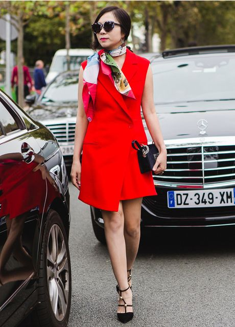 Dan fashionista Viet chat lu o Paris Fashion Week - Anh 2
