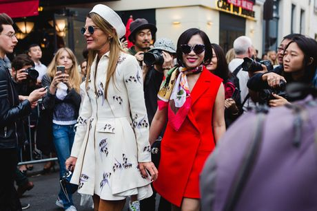 Dan fashionista Viet chat lu o Paris Fashion Week - Anh 3