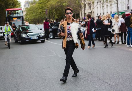 Dan fashionista Viet chat lu o Paris Fashion Week - Anh 5