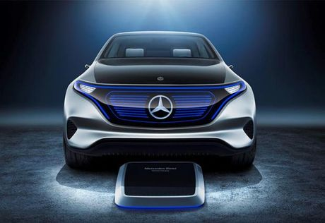 Mercedes 'lan san' sang mang xe dien voi ten goi EQ - Anh 1