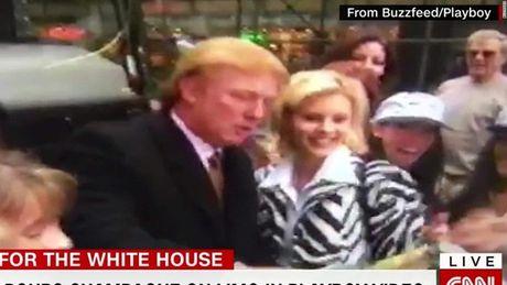 Xuat hien trong phim Playboy, ong Trump bi doi thu 'mia mai' - Anh 1