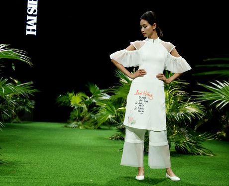 Vietnam Fashion Week: Xanh muot xuan he chau A nhiet doi moi - Anh 4