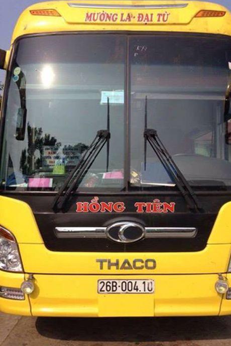 Vi khach kha nghi tren chuyen xe tuyen Son La- Thai Nguyen - Anh 3