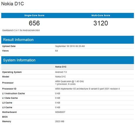 Nokia D1C lo dien: 'Cuu vuong' tro lai? - Anh 2