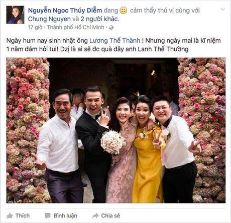 Mot nam nen duyen chong vo, cuoc song cua Luong The Thanh va Thuy Diem van man nong nhu mo - Anh 8