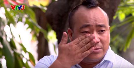 Dien vien Hieu Hien bat khoc tren song truyen hinh - Anh 3