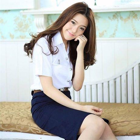 Loat anh: Gai Thai xinh that, co mot ngoi truong ma nu sinh nao cung xinh! - Anh 11