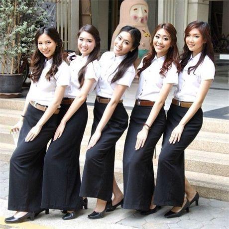 Loat anh: Gai Thai xinh that, co mot ngoi truong ma nu sinh nao cung xinh! - Anh 16