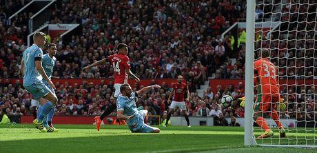 Chum anh tran hoa that vong cua Man Utd truoc Stoke City tren san nha Old Trafford - Anh 4