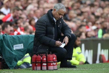 Chum anh tran hoa that vong cua Man Utd truoc Stoke City tren san nha Old Trafford - Anh 6