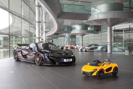 Anh 'sieu xe' dau tien cho tre em cua McLaren - Anh 1