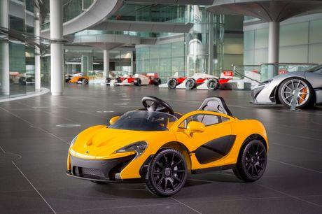 Anh 'sieu xe' dau tien cho tre em cua McLaren - Anh 3