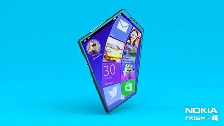 Xem concept Nokia Prism tao bao phi thuong voi man hinh 5 goc va giao dien doc dao - Anh 1