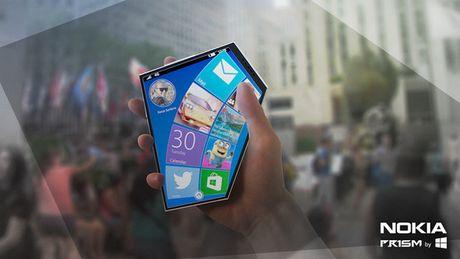 Xem concept Nokia Prism tao bao phi thuong voi man hinh 5 goc va giao dien doc dao - Anh 7