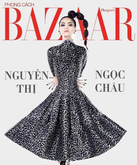 "Ngoc Chau ""vuot mat"" mau lun 1m54 gianh Quan quan Vietnam's Next Top Model 2016 - Anh 13"