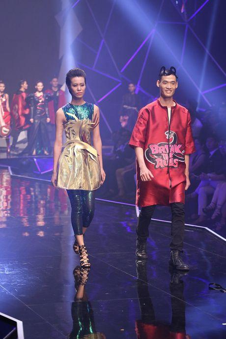 "Ngoc Chau ""vuot mat"" mau lun 1m54 gianh Quan quan Vietnam's Next Top Model 2016 - Anh 5"