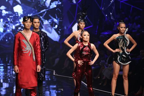 "Ngoc Chau ""vuot mat"" mau lun 1m54 gianh Quan quan Vietnam's Next Top Model 2016 - Anh 6"