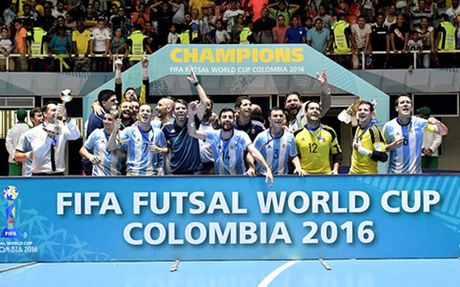 The thao 24h: Argentina vo dich FIFA Futsal World Cup 2016 - Anh 1