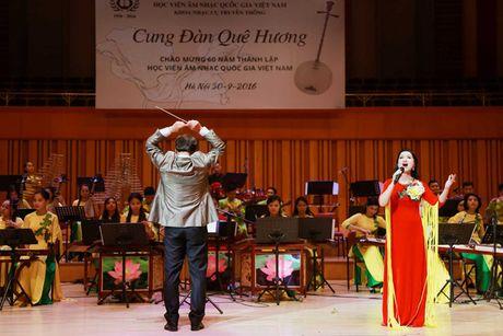 Sao Mai Le Anh Dung 'da nham san' sang Nhac cu truyen thong - Anh 11