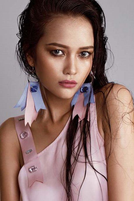 Ngam hanh trinh 'lot xac' cua Quan quan Ngoc Chau VN Next Top Model - Anh 4