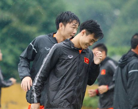 Nu cuoi tren san tap cua Xuan Truong - Anh 3