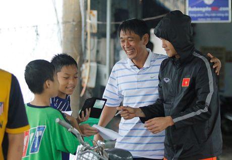 Nu cuoi tren san tap cua Xuan Truong - Anh 5
