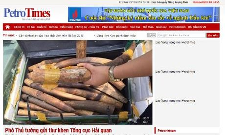 Dinh ban tam thoi bao Petrotimes, thu hoi the nha bao cua ong Nguyen Nhu Phong - Anh 1