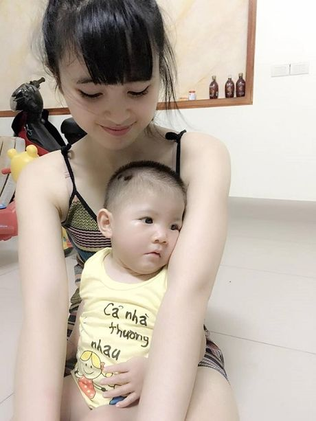 Canh song doi thay sau 3 thang lam me cua 'tieu thu 9x' nhan nuoi be gai Lao Cai 3,5kg - Anh 3