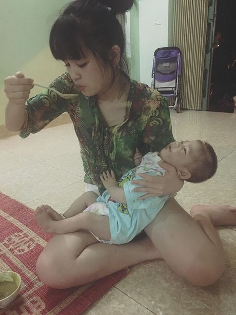 Canh song doi thay sau 3 thang lam me cua 'tieu thu 9x' nhan nuoi be gai Lao Cai 3,5kg - Anh 7