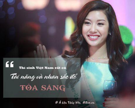 "A hau Thuy Van: ""Trong showbiz toi choi than nhat voi Ky Duyen"" - Anh 2"