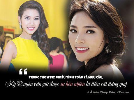"A hau Thuy Van: ""Trong showbiz toi choi than nhat voi Ky Duyen"" - Anh 4"