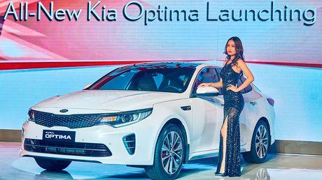"""Kia Optima 2016 """"chao"""" thi truong Viet, gia tu 915 trieu dong - Anh 1"""
