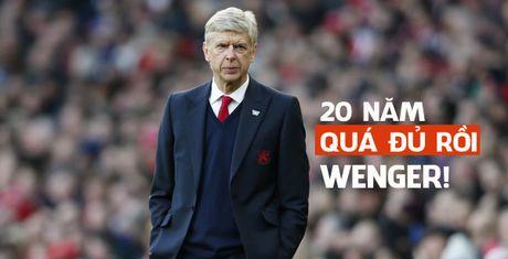 Wenger, 20 nam la du roi, dung lam kho nhau them nua - Anh 1