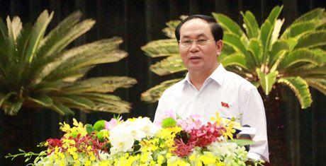 Doanh nhan 'than' voi Chu tich nuoc: 'Tren trai tham do, duoi rai dinh' - Anh 1