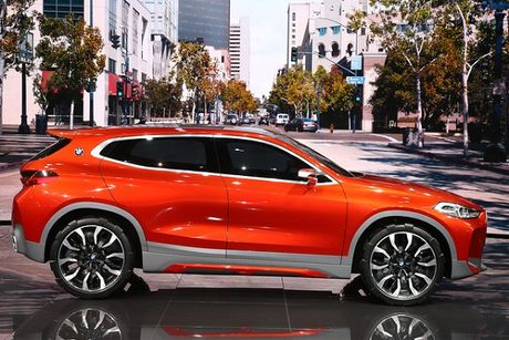 BMW X2 concept: SUV lai coupe day hap dan - Anh 1