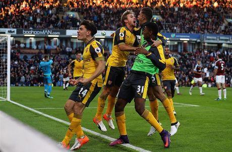Ghi ban o giay cuoi cung, Arsenal nhoc nhan gianh 3 diem truoc Burnley - Anh 1