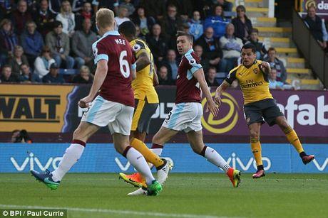 Ghi ban o giay cuoi cung, Arsenal nhoc nhan gianh 3 diem truoc Burnley - Anh 6