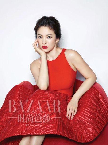 Song Hye Kyo vuot Trinh Sang, Yoona va nhieu nguoi dep khac, gianh danh hieu 'Nu than chau A' - Anh 2