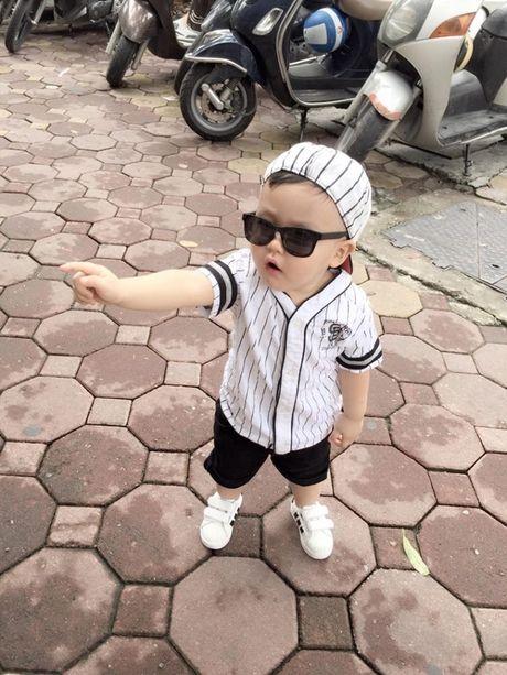 Tam Tit khoe anh con trai cuc ki dang yeu - Anh 9