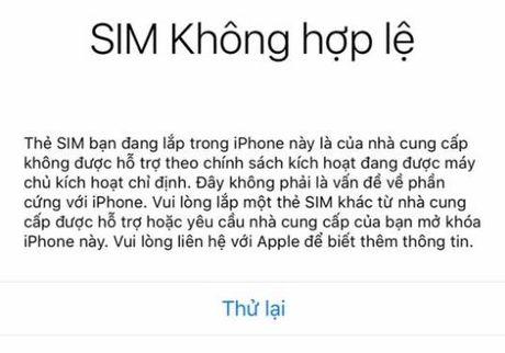 Dung restore iPhone xach tay ban Quoc te o thoi diem nay, neu khong muon no thanh cuc chan giay - Anh 1
