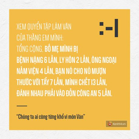 Chung ta, ai cung tung kho vi mon Van nhu the... - Anh 2
