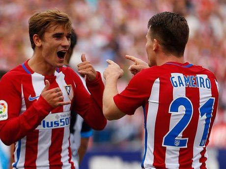 CLB Atletico… bi 'gio' dua len dinh La Liga - Anh 1