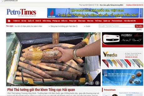 Dinh ban bao Petrotimes, thu hoi The nha bao cua Tong Bien tap - Anh 1