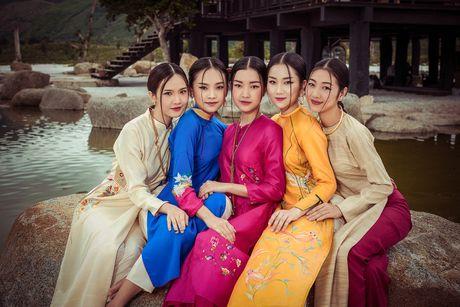 Nguoi dep Hoa hau Viet Nam 2016 do sac trong ta ao dai - Anh 1
