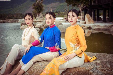 Nguoi dep Hoa hau Viet Nam 2016 do sac trong ta ao dai - Anh 2