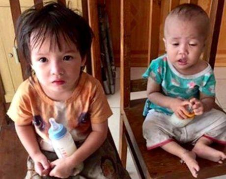 Hai Phong: Bo lai 2 chau be moi 1, 2 tuoi ngoai duong - Anh 1