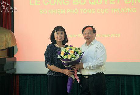 Tong cuc Du lich cong bo Quyet dinh bo nhiem Pho Tong cuc truong Nguyen Thi Thanh Huong - Anh 1