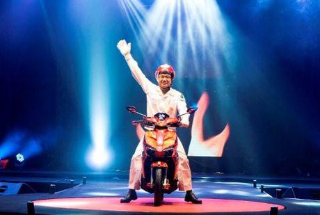 Honda Viet Nam vuot nguong san xuat 20 trieu chiec xe may - Anh 1