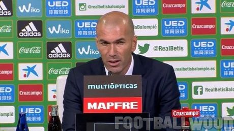 Zidane khang dinh Real Madrid khong khung hoang - Anh 1