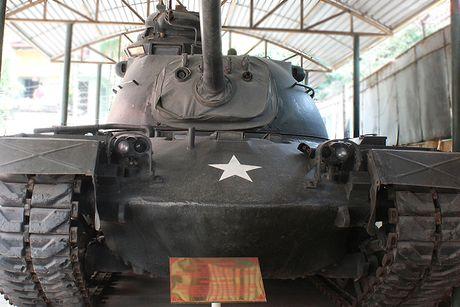 Can canh xe tang M48 cua My duoc quan doi Viet Nam 'thuan duong' - Anh 1